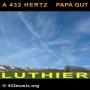 A 432 HERTZ PAPA GUT LUTHIER