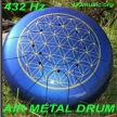 432 MUSIC METAL AIR DRUM