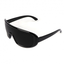 Relax style Cool Care Vision Improver Anti-fatigue Stenopeic Pinhole Glasses