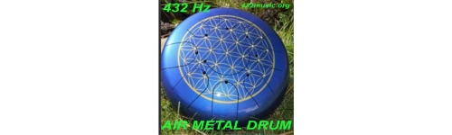 METAL AIR DRUM 432 Hz